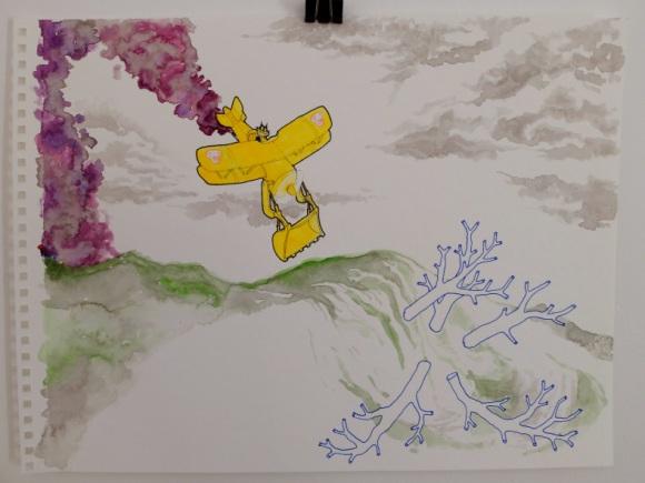 michael lilin dessin aquarelle crayon feutre felix le chat